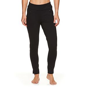 Women's Gaiam Metro Zippered Ponte Pants