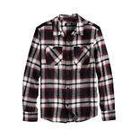 Boys 8-20 & Husky Urban Pipeline? Flannel Button-Front Top