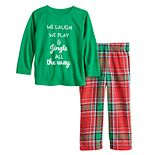 Toddler Jammies For Your Families® Jingle All The Way Top & Pants Pajama Set