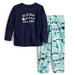 Toddler Jammies For Your Families® Sleigh All Day Top & Bottoms Pajama Set