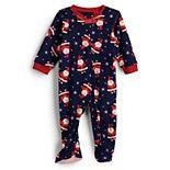Baby Jammies For Your Families® Happy Santa Microfleece Sleep & Play