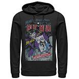 Men's DC Comics Batman And Joker Comic Cover Hoodie