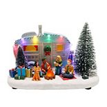 St. Nicholas Square® Village Camper with Light up Campfire