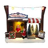 St. Nicholas Square® Village Wreath Tree Shop