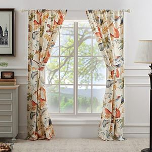 Barefoot Bungalow 2-pack Willow Window Curtains