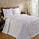 Better Trends Ashton Chenille Bedspread or Sham