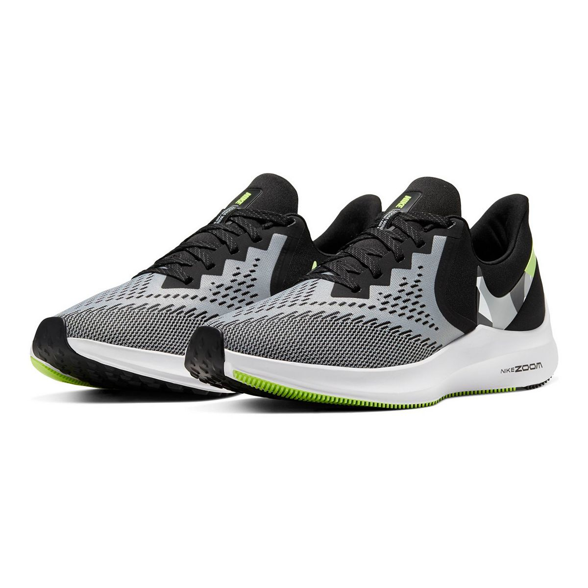 Nike Air Zoom Winflo 6 Men's Running Shoes Black Anthracite uS1Cp