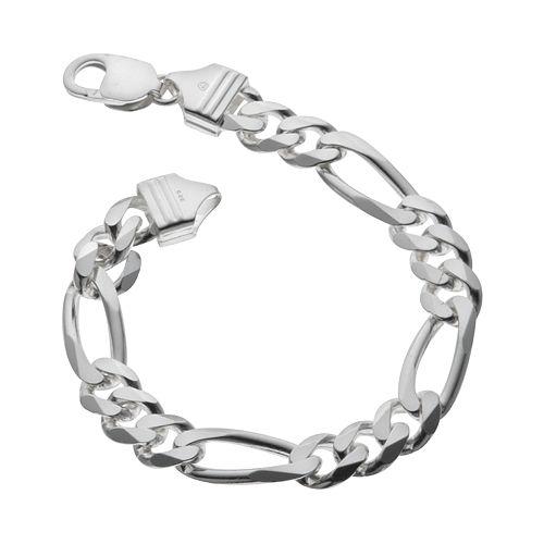 PRIMROSE Sterling Silver Figaro Bracelet