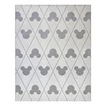 Disney's Mickey Mouse Argyle Indoor Outdoor Rug