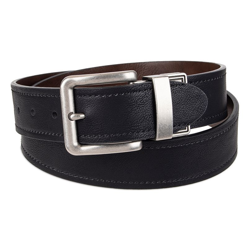 Men's Levi's Reversible Casual Belt, Size: Small, Grey