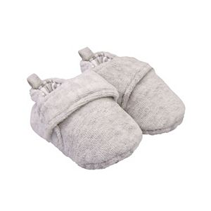 Baby Carter's Heathered Moccasin Crib Shoes