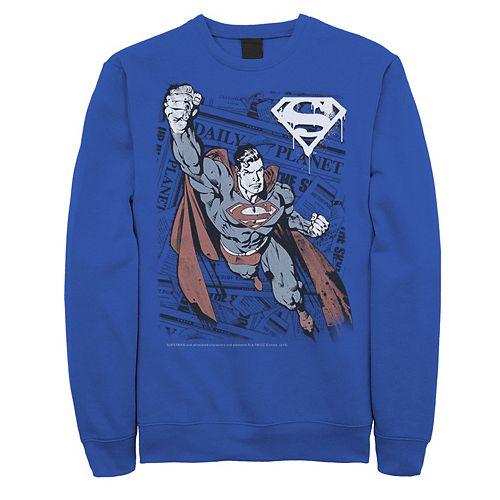 DC Comics Mens Get Dressed Sweater