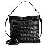 Women's Mellow World Alecia Woven Shoulder Bag