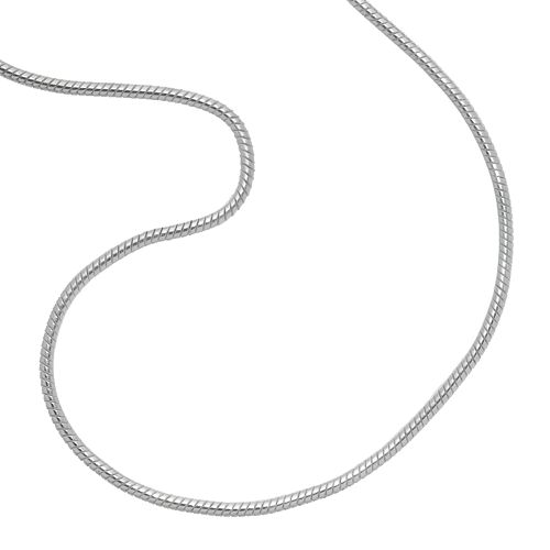PRIMROSE Sterling Silver Snake Chain Necklace
