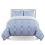 The Big One® Reversible Medallion Quilt Set with Shams