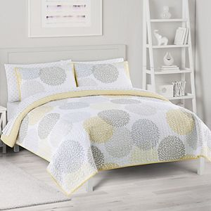 The Big One® Reversible Medallion Quilt and Sham Set