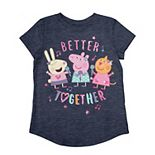 "Girls 4-12 Jumping Beans® Peppa Pig ""Better Together"" Graphic Tee"
