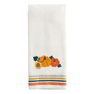 Celebrate Harvest Together Pumpkins Hand Towel
