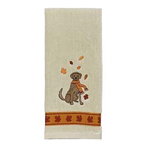 Celebrate Harvest Together Dog Hand Towel