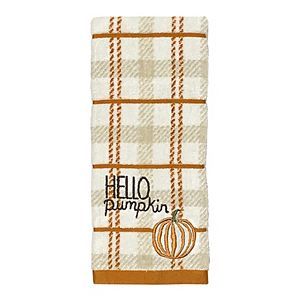 Celebrate Harvest Together Hello Pumpkin Hand Towel