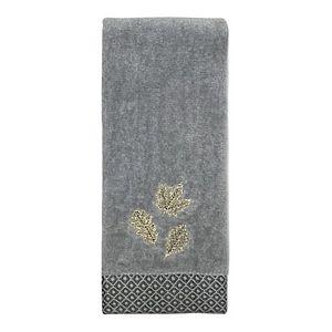 Celebrate Harvest Together Leaves Fingertip Towel