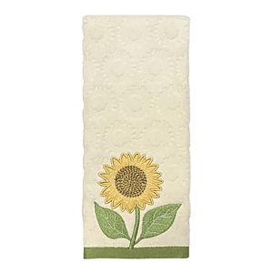 Celebrate Harvest Together Sunflower Hand Towel