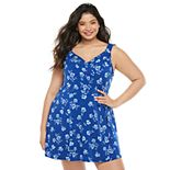 Juniors Plus Size Candie's Romper Dress