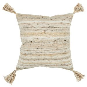 Rizzy Home Tassel Throw Pillow