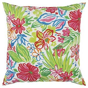 Rizzy Home Kira Indoor Outdoor Throw Pillow