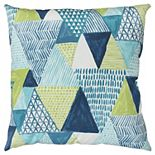 Rizzy Home Ezra Indoor Outdoor Throw Pillow