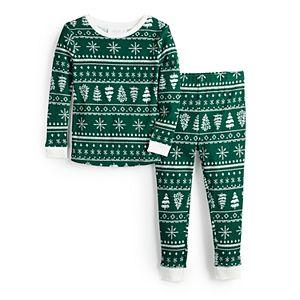 Toddler LC Lauren Conrad Jammies For Your Families® Fairisle Top & Bottoms Pajama Set