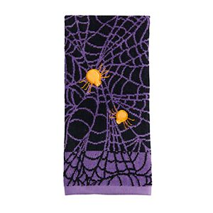 Celebrate Halloween Together Spiders Hand Towel