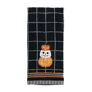 Celebrate Halloween Together Pumpkin Stack Hand Towel