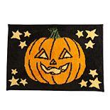 Celebrate Halloween Together Jack-O-Lantern Bath Rug