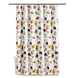 Celebrate Halloween Together Dogs Costumes Shower Curtain