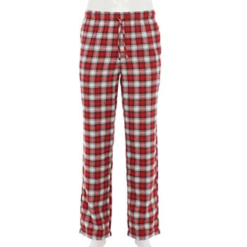 Croft & Barrow Men's Patterned Flannel Sleep Pants