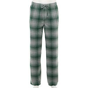 Men's Croft & Barrow® Patterned Flannel Sleep Pants