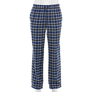 Men's Croft & Barrow® Patterned Flannel Sleep Pants