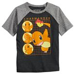 Boys 4-12 Jumping Beans® Pokémon Charmander Raglan Graphic Tee