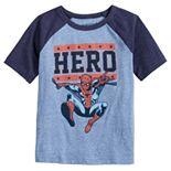"Boys 4-12 Jumping Beans® ""Hero"" Marvel Spider-Man Raglan Graphic Tee"