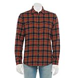 Men's Sonoma Goods For Life® Brushed Flannel Button-Down Shirt in Regular and Slim Fit