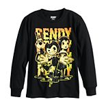 Boys 8-20 & Husky Bendy Ink Splat Team Long Sleeve graphic Tee