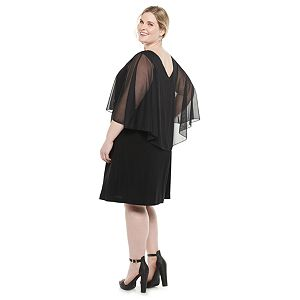 Plus Size Croft & Barrow® 3/4 Sleeve Shift Dress