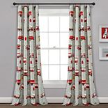 Make A Wish Fire Truck Window Curtain Panels 52 X 84 Set
