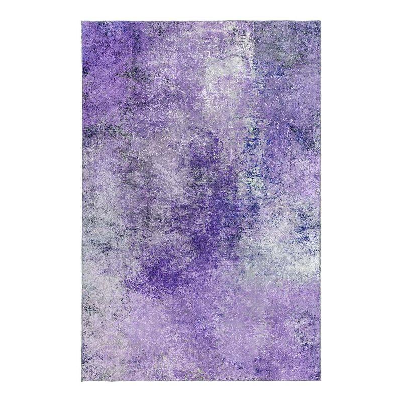 Addison Odyssey 32 Space Area Rug, Purple, 8X10 Ft