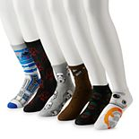 Men's 6-pack Star Wars Novelty Fashion Socks