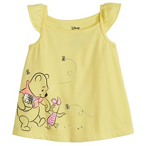Disney's Winnie the Pooh Baby Girl Ruffle Swing Tank by Jumping Beans®