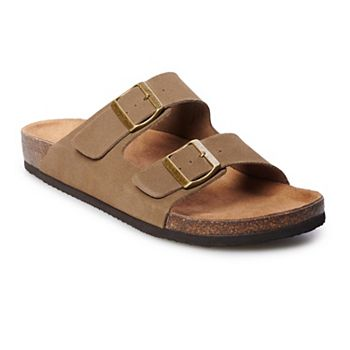 Sonoma Goods For Life Willie Mens Leather Sandals