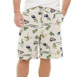 Big & Tall & Barrow® Knitted Sleep Shorts