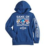Boys 8-20 Sonic The Hedgehog Game On Graphic Hoodie